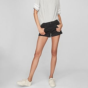 🆕Express Mid Rise Shortie Shorts